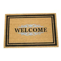 Gated Welcome Coir 24-inch x 36-inch Doormat