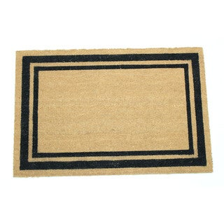 Border Frame Natural Coir 24-inch x 36-inch Doormat