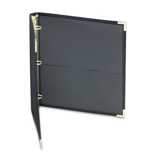 Samsill Classic Collection Ring Binder 11 x 8 1/2 1 inches Capacity Black