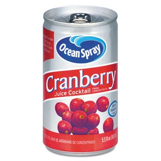 Ocean Spray Cranberry Juice Drink Cranberry 5.5-ounce Can
