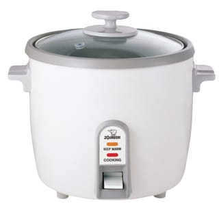 Zojirushi White Rice Cooker/ Steamer (3, 6, and 10 Cups)