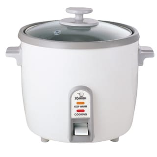 Link to Zojirushi White Rice Cooker/ Steamer (3, 6, and 10 Cups) Similar Items in Kitchen Appliances