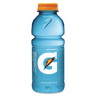 Gatorade G-Series Perform 02 Thirst Quencher Glacier Freeze 20-ounce Bottle 24/Carton