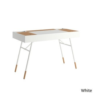 Convenience Concepts Designs2go Trestle Wood Desk