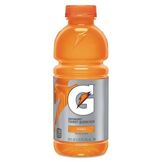 Gatorade G-Series Perform 02 Thirst Quencher Orange 20-ounce Bottle 24/Carton