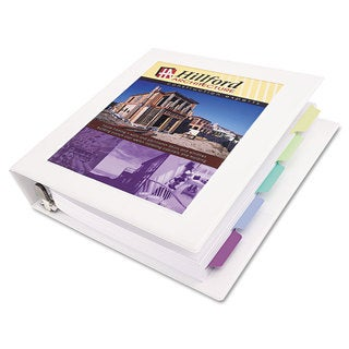 Avery Framed View Heavy-Duty Binder with Locking 1-Touch EZD Rings 3 inches Capacity White