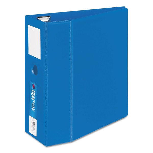Avery Heavy-Duty Binder with One Touch EZD Rings 11 x 8 1/2 5-inch Capacity  Dark Blue