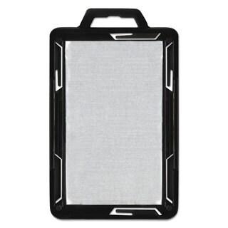 Advantus Secure-Two Card RFID Blocking Badge 3 3/8 x 2 1/8 Black 20 per Pack