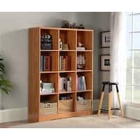 American Furniture Classics Brown 12-Cube Storage Bookcase