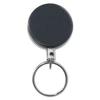 Link to Advantus Heavy-Duty Retractable ID Card Reel 18-inch Extension Black/Chrome 6/Pack Similar Items in Badges, Names & Signs