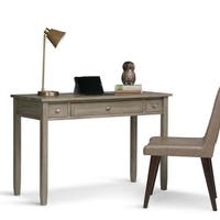 WYNDENHALL Norfolk Solid Wood Home Office Desk