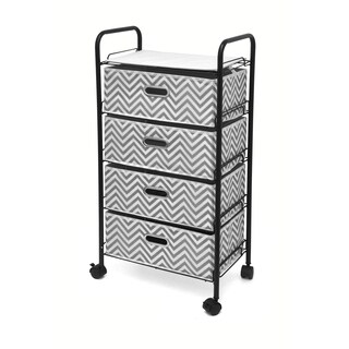 Urban Shop 4-Tier Rolling Cart