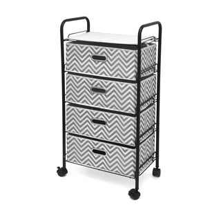 Urban Shop 4-Tier Rolling Cart