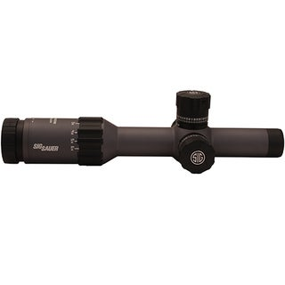 Sig Sauer Graphite Tango6 FFP Tactical Riflescope 1-6x24mm, 300 Blackout Horseshoe Dot Reticle, 0.5 MOA Adjustment