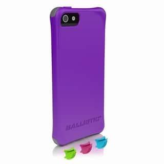 Ballistic LS-0955-M081 Smooth Series Purple iPhone 5/5S Case|https://ak1.ostkcdn.com/images/products/13867355/P20507610.jpg?impolicy=medium