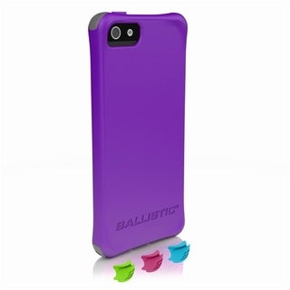 Ballistic LS-0955-M081 Smooth Series Purple iPhone 5/5S Case