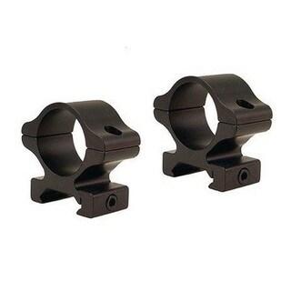 Leupold Rifleman Matte Black Aluminum Medium Detachable Rings