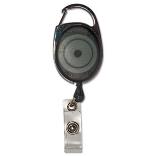 Link to Advantus Carabiner-Style Retractable ID Card Reel 30-inch Extension Smoke 12/Pack Similar Items in Badges, Names & Signs