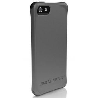 Ballistic LS-0955-M141 Smooth Series Grey Silicone Case for iPhone 5/5S