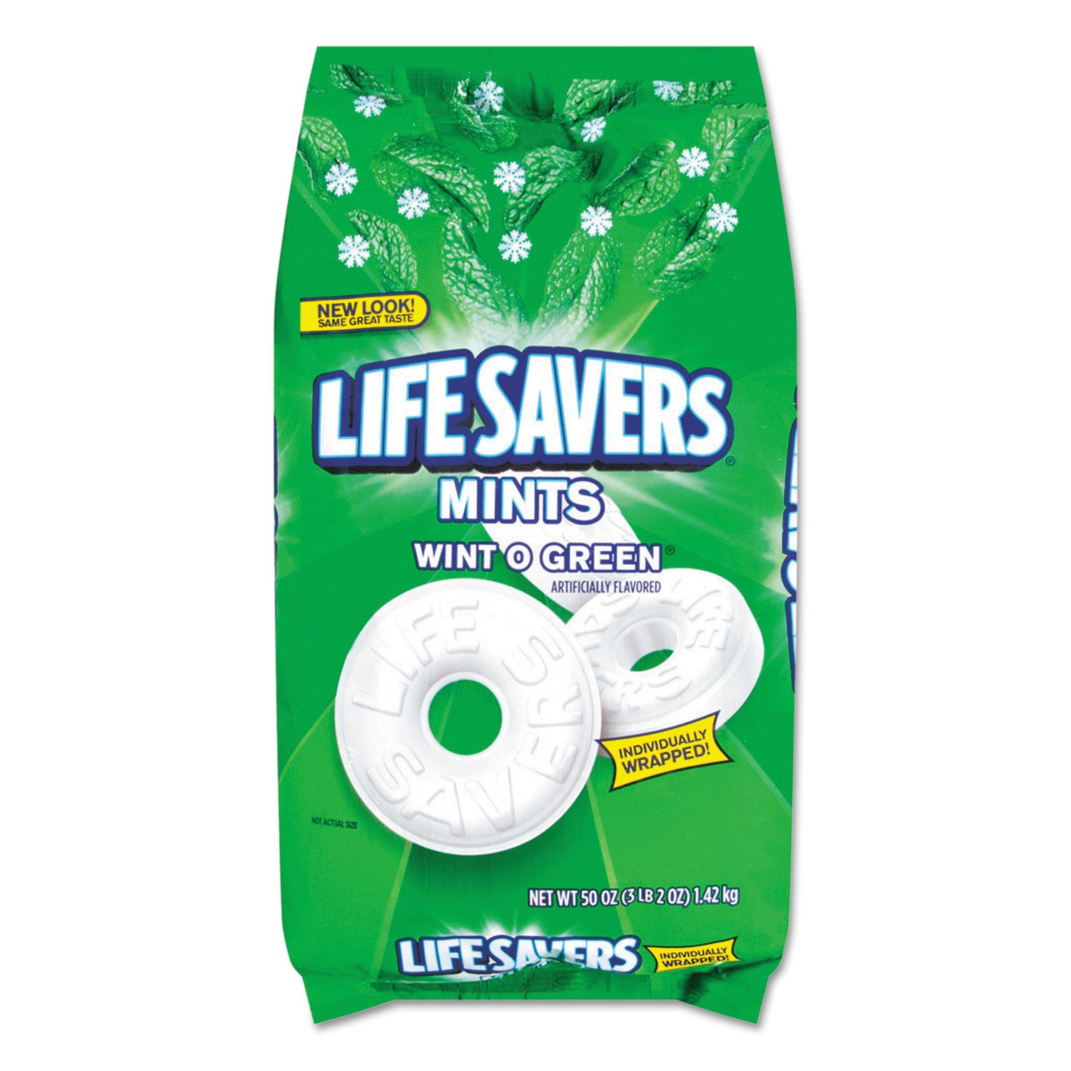 Lifesavers Hard Candy Wint-O-Green 50-ounce Bag (Snacks)
