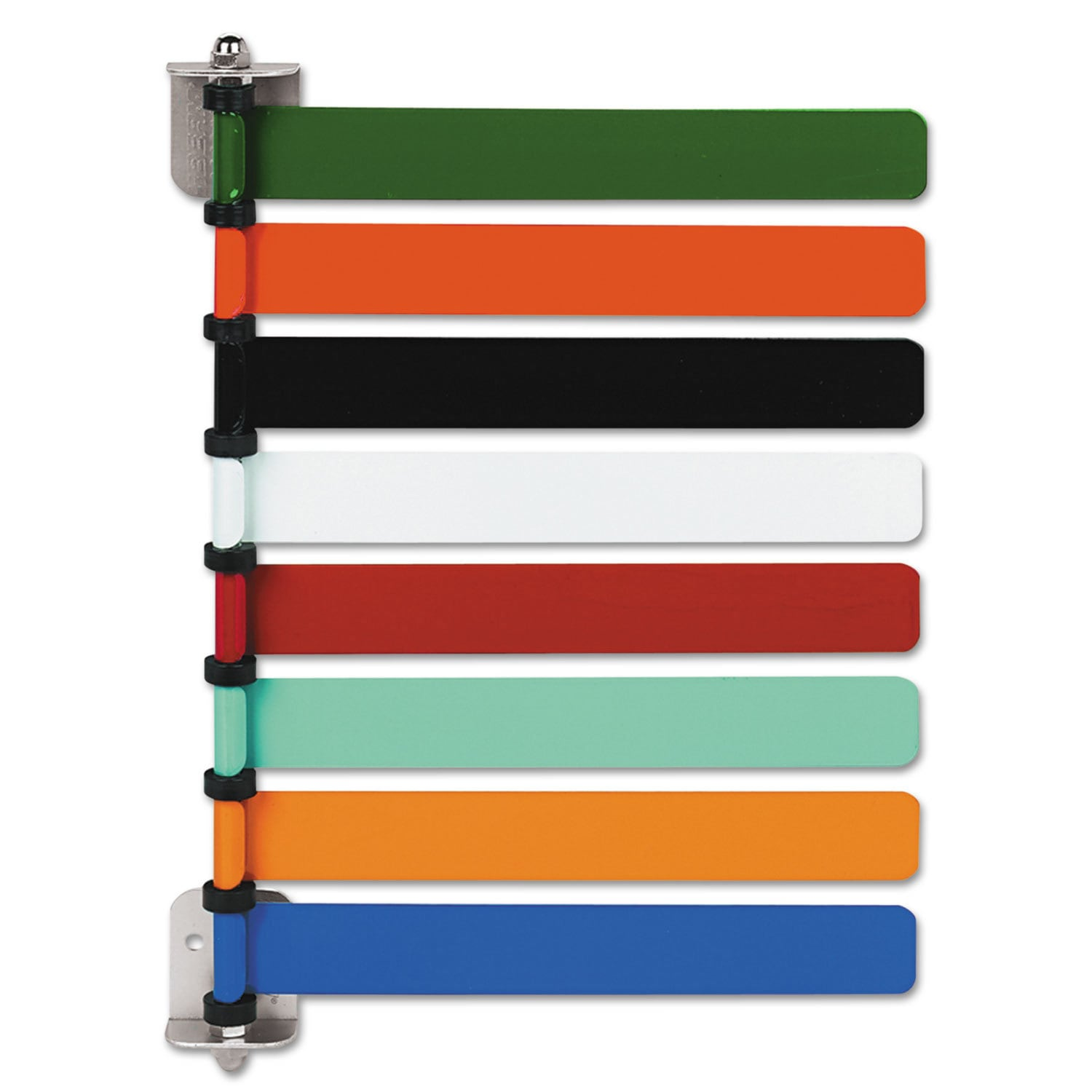 medline Room ID Flag System 8 Flags Primary Colors (Assor...