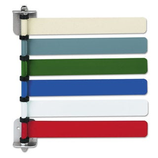 Medline Room ID Flag System 6 Flags Primary Colors