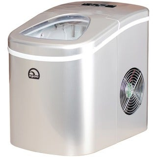 Igloo Silver Portable Countertop Ice Maker w/ Scoop (Refurbished)