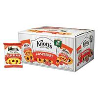 Knott's Berry Farm Premium Berry Jam Shortbread Cookies 2-ounce Pack 36/Carton