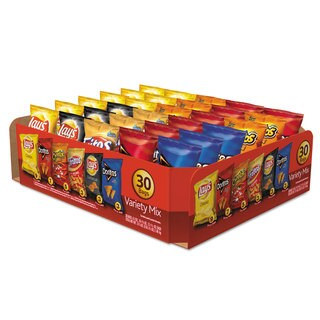 Frito-Lay Classic Variety Mix Assorted 30 Bags per Box