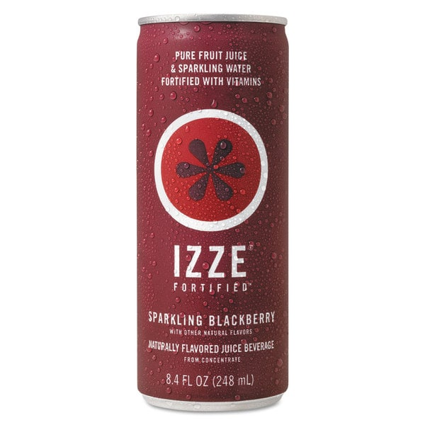 21 Refreshing Redneck Recipes And Camping Food Ideas: Shop IZZE Fortified Sparkling Juice Blackberry 8.4-ounce