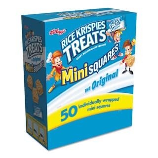 Kellogg's Rice Krispies Treats Mini Squares 0.39 oz 50/Box