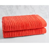 LOFT by Loftex Cascading Solid Oversized Bath Towel
