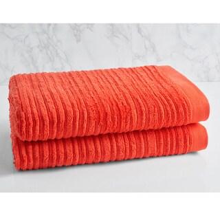 LOFT by Loftex Cascading Solid Oversized Bath Towel