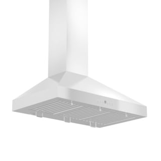 ZLINE 30-inch 760 CFM Wall Mount Range Hood in Stainless Steel with Crown Molding (KL3CRN-30)