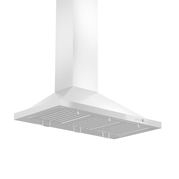 ZLINE 30-inch 760 CFM Wall Mount Stainless Steel Range Hood with Crown Molding (KBCRN-30)