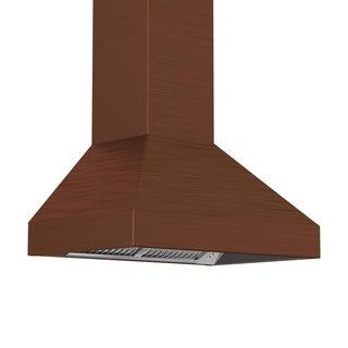 ZLINE 36-inch 1200 CFM Designer Series Wall Mount Stainless Steel Range Hood (8697C-36)