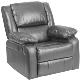 Harmony Leather Recliner  sc 1 st  Overstock.com & Contemporary Recliner Chairs u0026 Rocking Recliners - Shop The Best ... islam-shia.org