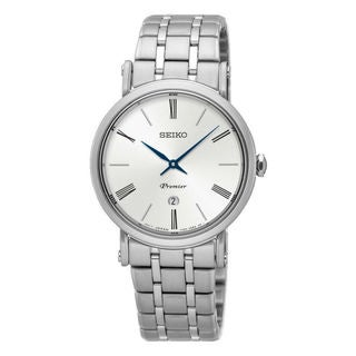 Seiko Premier SXB429P1 Women's White Dial Watch