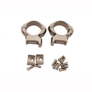 Weaver Grand Slam Silvertone Steel 1-inch Rings