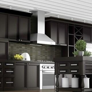 ZLINE 48-inch 1200 CFM Professional Wall Mount Stainless Steel Range Hood (697-48)