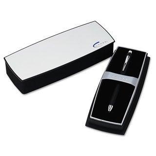 Cross Tech3 Retractable Ballpoint Pen Black Barrel Black/Red Ink Medium Point