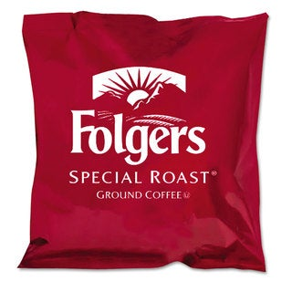 Folgers Ground Coffee Fraction Packs Special Roast 42/Carton