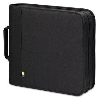 Case Logic CD DVD Expandable Binder Holds 208 Disks Black