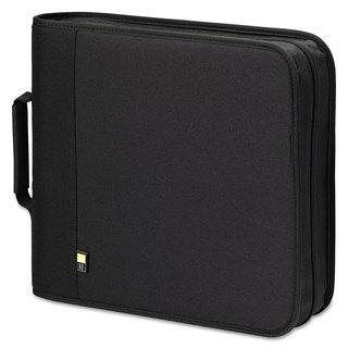 Case Logic CD/DVD Expandable Binder Holds 208 Disks Black