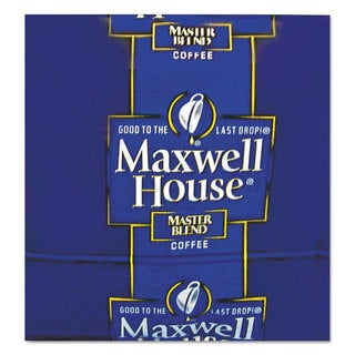 Maxwell House Coffee Regular Ground 1 1/10-ounce Pack 42/Carton