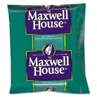 Maxwell House Coffee Original Roast Decaf 1.1-ounce Pack 42/Carton