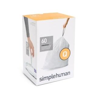simplehuman 20count gallon liter code q custom