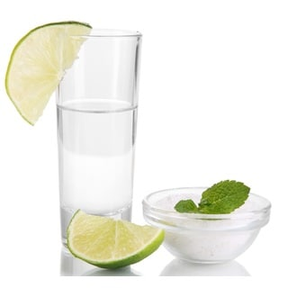 Premium Hard Plastic Straight Walled Shooter Glasses Set By Oasis Creations - 25 Clear Disposable Drink Shot Tumblers