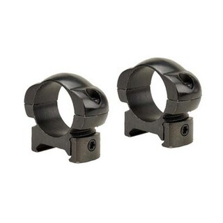 Weaver Grand Slam Black Steel 1-inch High Rings