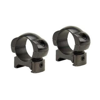 Weaver Grand Slam Black Steel 1-inch Rings